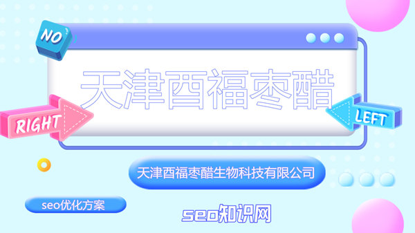 天津酉福枣醋生物科技有限公司seo优化方案