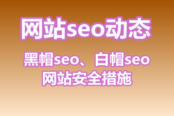 黑帽seo和白帽seo的区别与网站安全措施